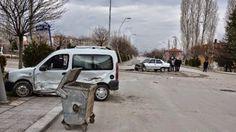 06.Başkent Haber: Ankara Kazan'da Hastaneye Giderken Kaza Yaptı