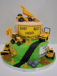 construction+themed+baby+shower+cake | Absolutely Cake by Sebrina shared Absolutely Cake by Sebrina 's photo ...