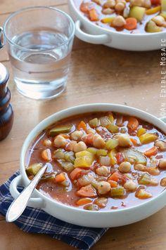 Chickpea Garden Vegetable Soup ~Guest Post~ - Mrs Happy Homemaker