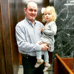 Commissioner Kenneth Walker with his niece Brylee as they await the results from today's primary. #CullmanCountyElection       Posted on March 01 2016 at 09:08PM at http://ift.tt/1QSxUUC by CullmanSense