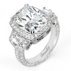 Harry Winston engagement ring!!! I love you!