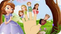 Finger Family Sofia The First Family Nursery Rhyme