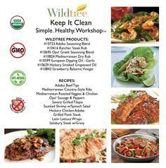 Keep it Clean Workshop - Bundle List & Recipes