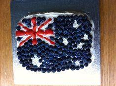 Emigrating to Australia cake