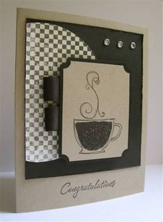 Coffee for Grad by brierrose - Cards and Paper Crafts at Splitcoaststampers
