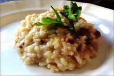 Risotto con hongos y salchicha, historia El risotto es otro de los pilares de la cocina italiana y, al igual que la pasta, este primero se puede hacer de miles…