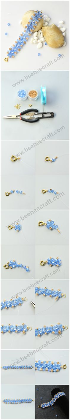 Glass beads have long history, significant in archaeology and jewelry making. Our cheap glass beads are rich in colors, shapes, categories and sizes. You will find unique beauty, charm and value in all these glass beads. Jewelry Making Beads, Bracelet Making, Diy Jewelry, Bee Crafts, Bead Patterns, Buy Cheap, Colored Glass, Making Ideas, Glass Beads