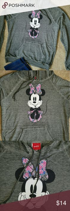 Minnie mouse sweater. Adorable minnie mouse hoodie sweater. Brand NEW with tags still attached.? Disney Sweaters