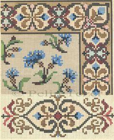 Celtic Cross Stitch, Cross Stitch Rose, Cross Stitch Borders, Cross Stitch Flowers, Cross Stitching, Needlepoint Patterns, Cross Stitch Patterns, Diy Embroidery, Cross Stitch Embroidery