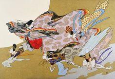 Kaguya,illustrated by  Nakashima Kiyoshi