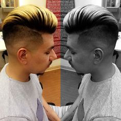 Men's color and style. Done by Donte Mitchell and Juan Moreno
