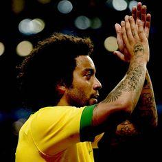 Marcelo teve boa atuação na vitória da Seleção sobre a França Foto: Ricardo Matsukawa / Terra