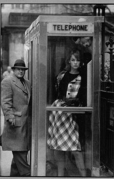 Jean Shrimpton.  Photo by David Bailey.