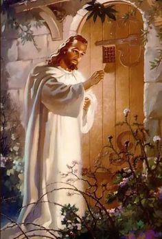 Fábula de Jesucristo y el corazón del hombre. Entra Señor en mi corazon y haslo tuyo completamente. Quiero ser tuyo Señor