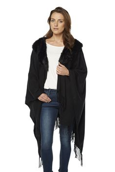 Buy Faux Fur Fringe Wrap From K Life. Your online shop for K-LifeAccessories