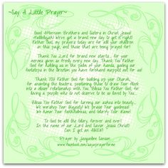 A Prayer Little Prayer, My Prayer, Brand New Day, Sisters In Christ, Thank You Lord, New Start, Jesus Christ, Prayers, How To Get