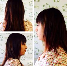 Bold cut with lots of texture