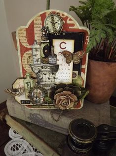 Stunning Olde Curiosity Shoppe tag by @Lynette Carroll #graphic45 #tags