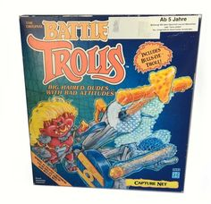 Battle Trolls – Spring Activated Crossbow with Capture Net  Hasbro  Dragonheart www.detoyboys.nl