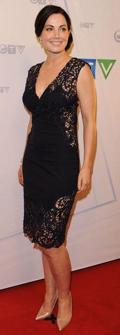 Erica Durance, I love thet dress