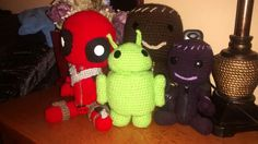 Deadpool, Android y Sackboy...