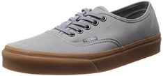 Vans Unisex Authentic Gumsole Frost Gray Skate Shoe 55 Men US  7 Women US ** You can get more details by clicking on the image.
