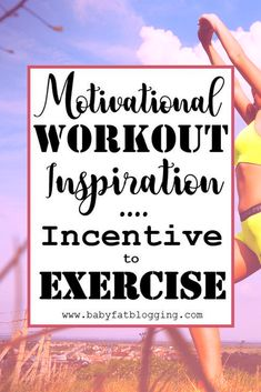 Tips on how and why to get motivated to exercise and live a healthy lifestyle. List of reasons to incorporate a workout in your daily activities by making exercise something you need and/or love.