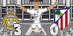 Cetak Hat-Trick Saat Lawan Atletico Madrid, Ronaldo Ciptakan Lagu Kocak
