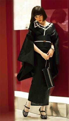 【画像 2/5】伊勢丹×東京デザイナー今年は女の浴衣、ミナやファセッタズムとコラボ   Fashionsnap.com