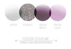 *brushstrokes*   color palette   fresh hues