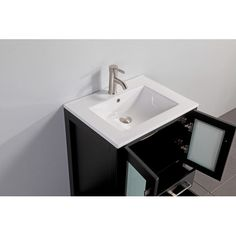 "Found it at Wayfair - Argentina 24"" Single Sink Bathroom Vanity Set with Mirror"