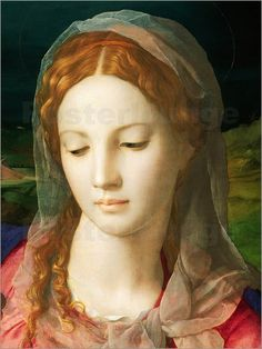 Agnolo Bronzino - The Virgin