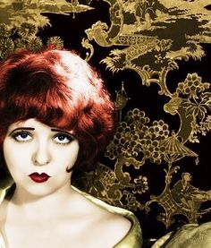 Clara Bow. Redheads rock!