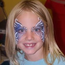 malování na obličej motýl - Hledat Googlem
