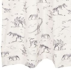 Dinosaur curtain #boysroom | ZARA HOME KIDS