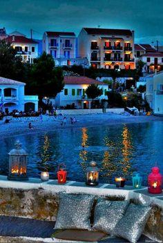 Assos, Kefalonia island, Ionian Sea, Greece