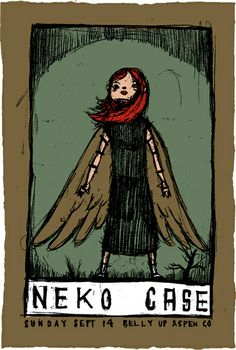 neko case - Dark Angel - Purchased Spring 2013