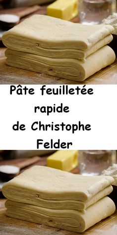 To make a minute puff pastry with out relaxation time is feasible and really straightforward with the recipe of the fast puff pastry of Christophe Felder. Vegan Desserts, Just Desserts, Dessert Recipes, Quick Recipes, Healthy Dinner Recipes, Just Bake, French Desserts, Vegan Meal Prep, Vegan Thanksgiving