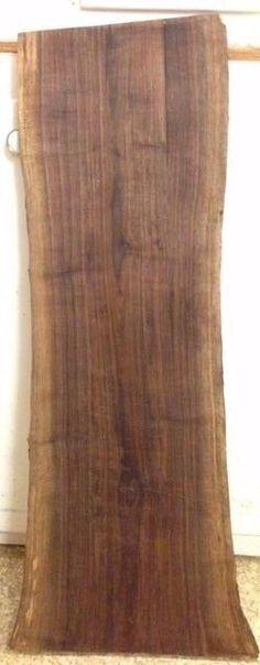 Black Walnut Spalted Live Edge Slab  #TheWoodArtsenal Walnut Wood, Wood Work, Woodworking, Live, Crafts, Ebay, Black, Manualidades, Black People