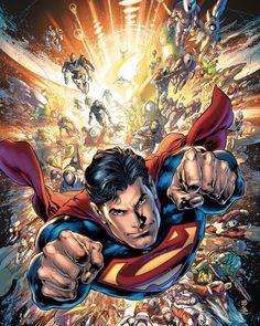 Superman by Ivan Reis, inks by Joe Prado * Mundo Superman, Batman Y Superman, Superman Artwork, Superman Wallpaper, Spiderman, Superman Family, Superman Cosplay, Arte Dc Comics, Dc Comics Superheroes