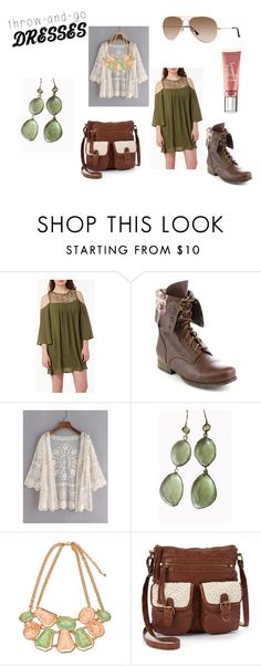 """""""Easy Peasy: Throw-and-Go Dresses"""" by holly32196 on Polyvore featuring Blue Candy Jewelry, Mudd, Victoria's Secret and easypeasy"""