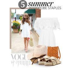 5 Summer Wardrobe Staples by sportsonista on Polyvore featuring polyvore fashion style Topshop Dolce Vita Tory Burch Forever 21 Ray-Ban Trilogy
