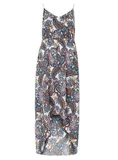 Dorothy Perkins Womens *Mela White Paisley Print Maxi Dress- White paisley print maxi dress. Length 117cm. 100% Polyester. Wash at 30 degrees with similar colours, iron on reverse and wash inside out. http://www.MightGet.com/january-2017-13/dorothy-perkins-womens-mela-white-paisley-print-maxi-dress-.asp