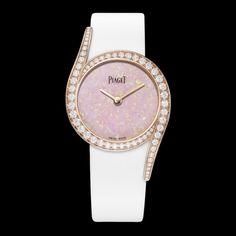 Pink gold Diamond Watch - Piaget Luxury Watch G0A40161