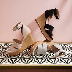f2daa0773367 EMMA | Playful High Wooden Platform Wedge Halo Strap Suede Sandal