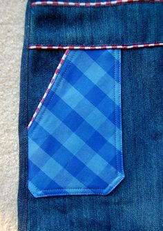 bolsa de ikat: Hilo de bolsillo forrado de imitación de la aleta