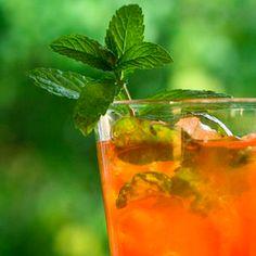 basil & mint iced tea