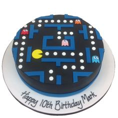 The Cake Store - Arcade Pacman Cake, £110.00 (https://www.thecakestore.co.uk/arcade-pacman-cake/)