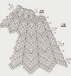 Fabulous Crochet a Little Black Crochet Dress Ideas. Georgeous Crochet a Little Black Crochet Dress Ideas. Poncho Au Crochet, Pull Crochet, Crochet Skirt Pattern, Mode Crochet, Crochet Skirts, Crochet Fabric, Crochet Diagram, Crochet Stitches Patterns, Crochet Blouse