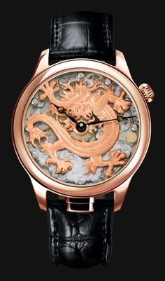 NIVREL Repeater watch 'Piece Unique', model Dragon, Reference N 950.001.